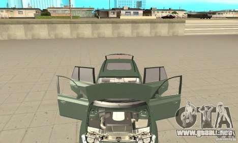 BMW X3 2.5i 2003 para visión interna GTA San Andreas