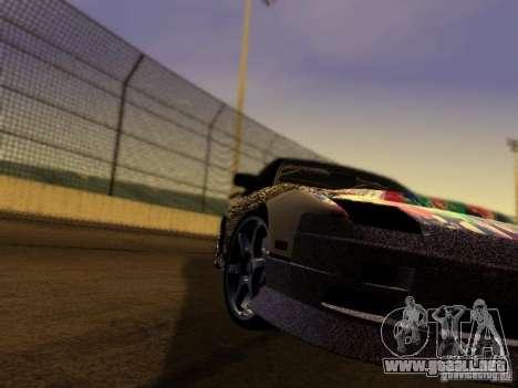 Nissan 240sx Street Drift para GTA San Andreas vista hacia atrás