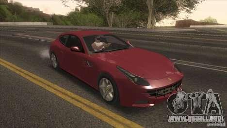 Ferrari FF 2011 V1.0 para GTA San Andreas left