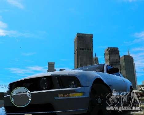 Ford Mustang GT 2005 v1.2 para GTA 4 visión correcta