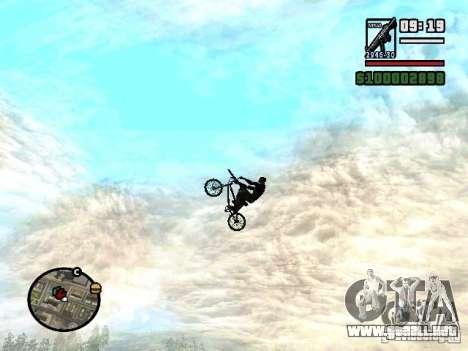 Motos voladoras para GTA San Andreas tercera pantalla