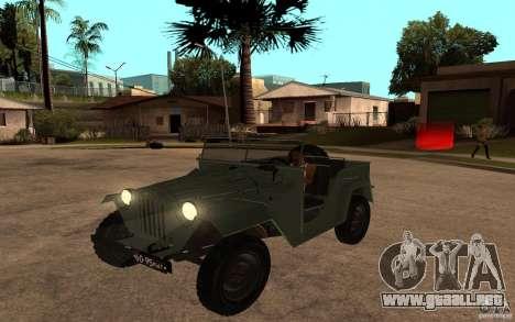 GAZ 67 b para GTA San Andreas