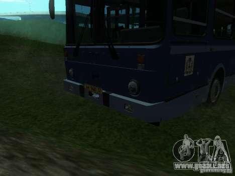LIAZ 5256-25 para visión interna GTA San Andreas