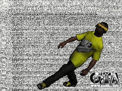 New Ballas Pack para GTA San Andreas quinta pantalla