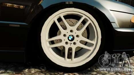 BMW 750iL E38 Light Tuning para GTA 4 vista lateral