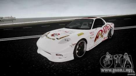 Mazda RX7 FD Apex Imamura para GTA 4