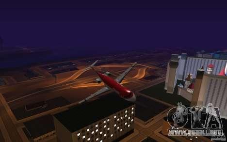 Fokker-100 para GTA San Andreas