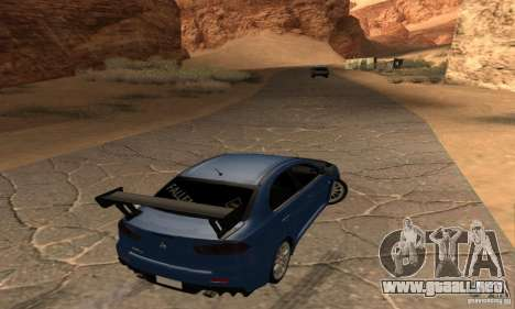 New Drift Zone para GTA San Andreas segunda pantalla