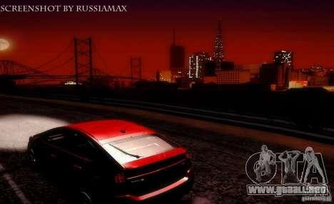 UltraThingRcm v 1.0 para GTA San Andreas segunda pantalla