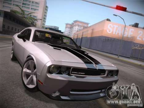 Dodge Challenger SRT8 v1.0 para GTA San Andreas left