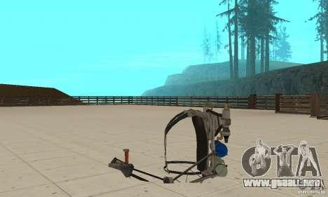 Un nuevo Jetpack para GTA San Andreas sucesivamente de pantalla