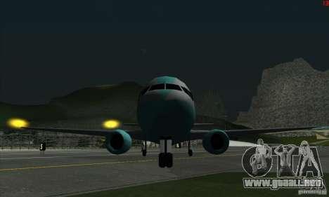 AT-400 en todos los aeropuertos para GTA San Andreas quinta pantalla