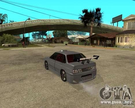 MCC VAZ 2115 para GTA San Andreas left