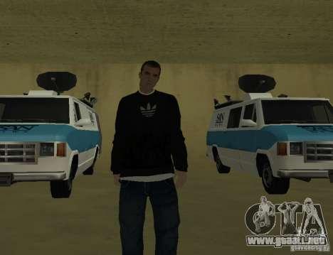 Reportero italiano para GTA San Andreas tercera pantalla