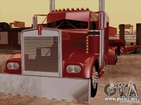 Kenworth W 900 1974 Custom para GTA San Andreas