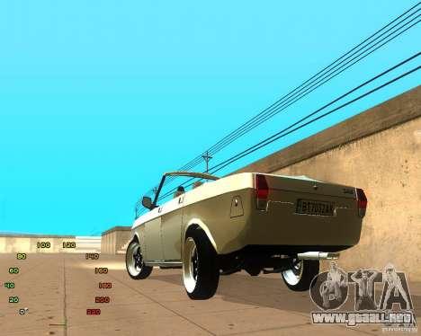 GAZ Volga 2410 el Cabrio para GTA San Andreas left