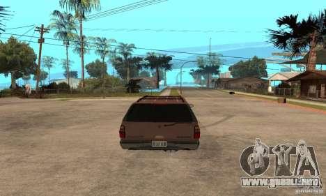 Chevrolet Suburban para la visión correcta GTA San Andreas