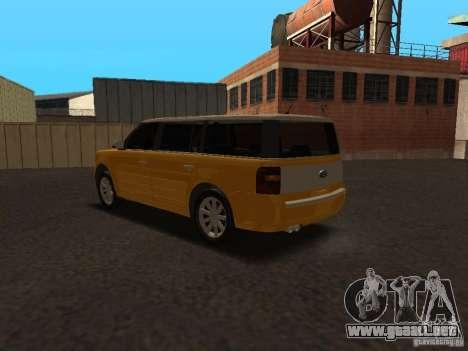 Ford Flex para la visión correcta GTA San Andreas