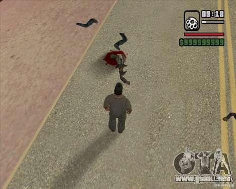 Real Ragdoll Mod Update 2011.09.15 para GTA San Andreas séptima pantalla