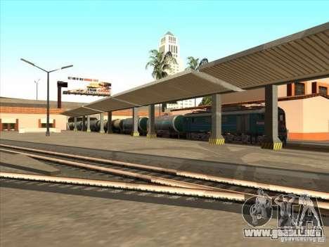 Tanque # 57929572 para GTA San Andreas vista hacia atrás