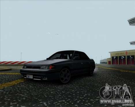 Subaru Legacy RS 1991 para la visión correcta GTA San Andreas
