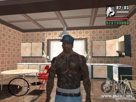 Nueva York Cap para GTA San Andreas sucesivamente de pantalla