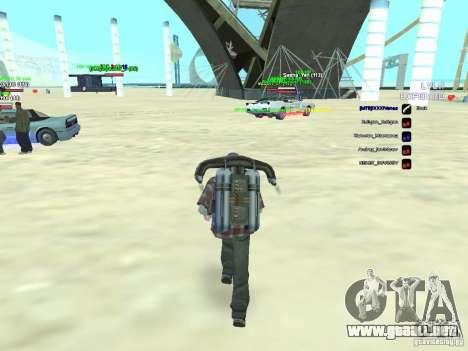 SA:MP 0.3d para GTA San Andreas segunda pantalla
