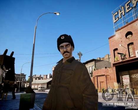 Niko - Stalin para GTA 4 segundos de pantalla