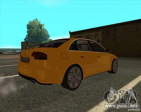 AUDI S4 Sport para GTA San Andreas left