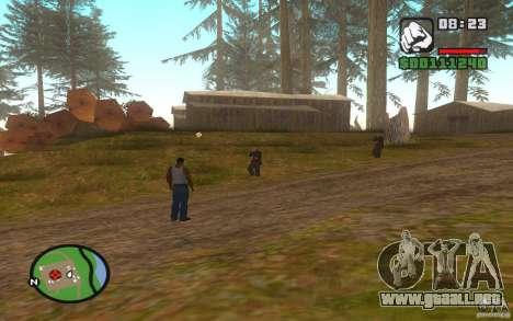 Mortal Kombat para GTA San Andreas segunda pantalla
