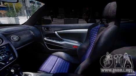 Mitsubishi Eclipse GTS Coupe para GTA 4 vista hacia atrás
