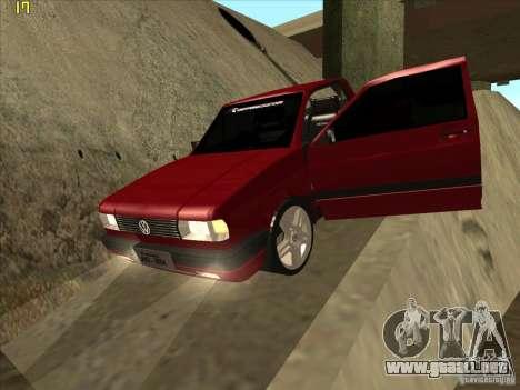 Volkswagen Saveiro Summer para la vista superior GTA San Andreas