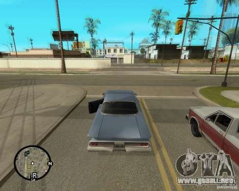 Detailed Map and Radar Mod para GTA San Andreas tercera pantalla