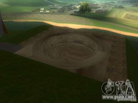 Ekstrimalov Park para GTA San Andreas sucesivamente de pantalla