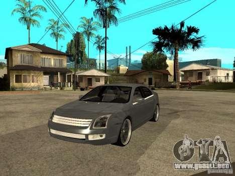 Ford Fusion 2008 Dub para GTA San Andreas