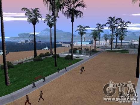 Playa nueva textura v1.0 para GTA San Andreas tercera pantalla