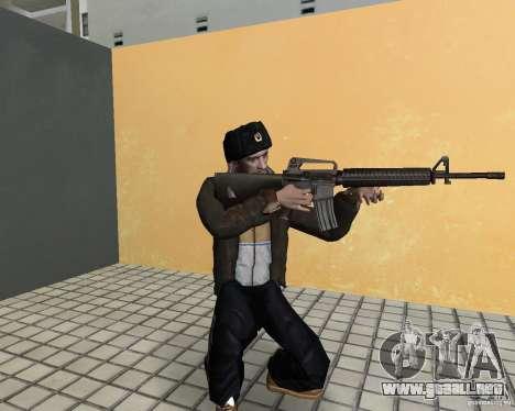 Niko Bellic en orejeras para GTA Vice City