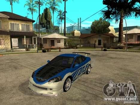 Acura RSX Shark Speed para GTA San Andreas