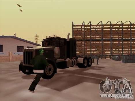 Peterbilt 378 para la visión correcta GTA San Andreas