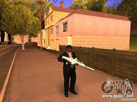 TeK Weapon Pack para GTA San Andreas tercera pantalla