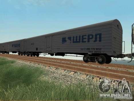 Vagón de carga para GTA San Andreas