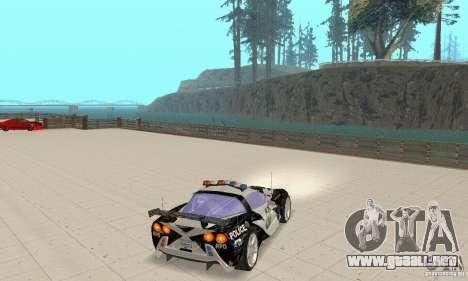 Chevrolet Corvette C6 áspero (NFS MW) para la visión correcta GTA San Andreas