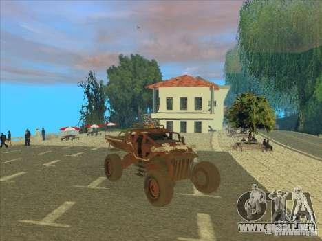 Jeep from Red Faction Guerrilla para GTA San Andreas