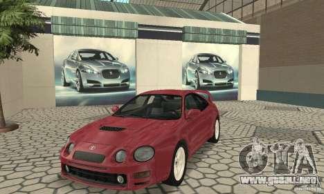 Toyota Celica GT-Four v1.1  1994 para GTA San Andreas left