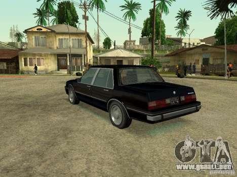 Willard from GTA 4 para GTA San Andreas left