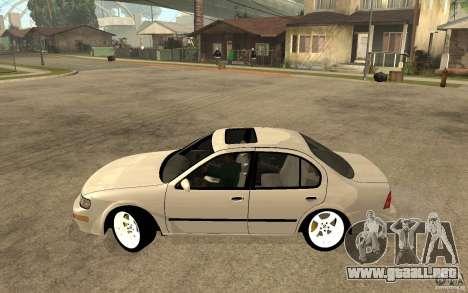 Nissan Maxima 1998 para GTA San Andreas left