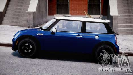Mini Cooper S 2003 v1.2 para GTA 4 left