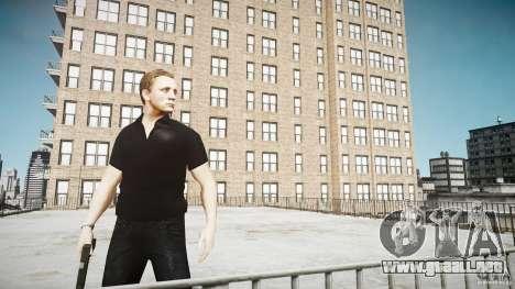 Piel de James Bond para GTA 4 adelante de pantalla