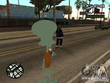 Calamardo para GTA San Andreas séptima pantalla