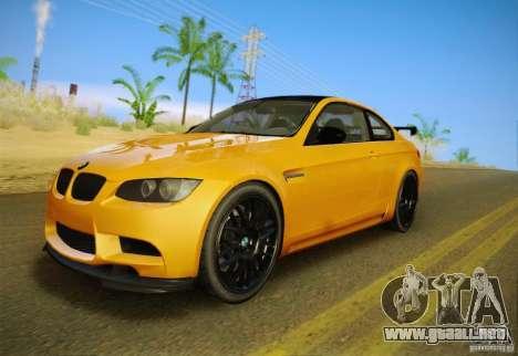 BMW M3 GT-S Final para visión interna GTA San Andreas